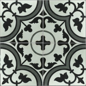 Cement Tiles Luton Flower Ornament