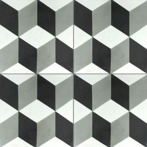 SAMPLE Cement Tiles Luton Anthracite