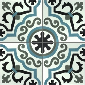 SAMPLE Cement Tiles Chester Ornament