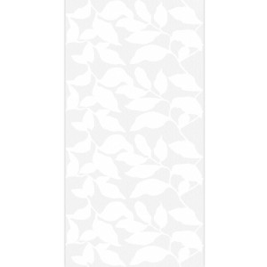 Wall Tiles Vulcano Floral Decor Rectified White 60x120cm
