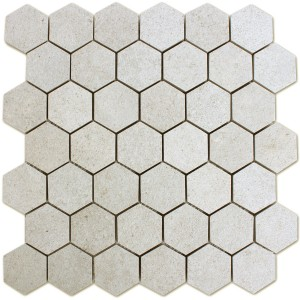 Mosaic Tiles Hexagon Constanta Light Beige