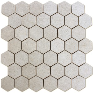 Mosaic Tiles Hexagon Constanta Beige