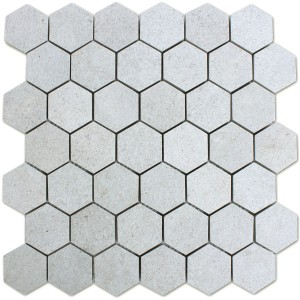 Mosaic Tiles Hexagon Constanta Light Grey