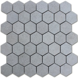 Mosaic Tiles Hexagon Constanta Dark Grey