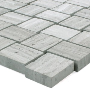 Mosaic Tiles Natural Stone Everest Grey