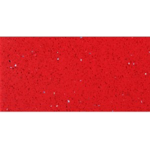 Floor Tiles Quartz Composite Red 30x60cm