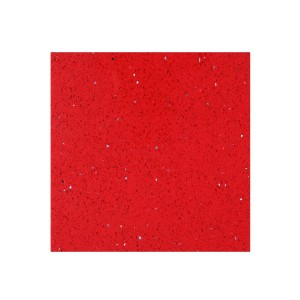 Floor Tiles Quartz Composite Red 30x30cm