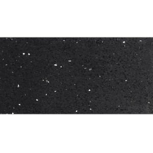Floor Tiles Quartz Composite Black 30x60cm