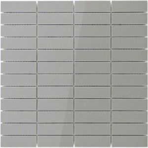 Mosaic Tiles Majesta Grey Uni Polished Stick