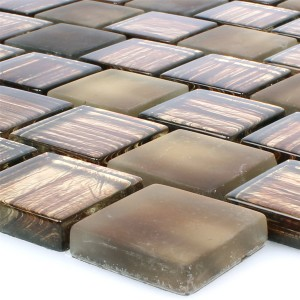 Glass Mosaic Lanzarote Brown