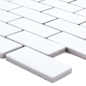 Mosaic Tiles Ceramic Manila White Mat