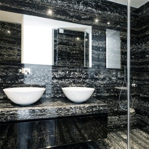 Natural Stone Optic Tiles Discovery Nero