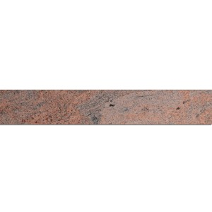 Natural Stone Tiles Granite Base Multicolor Red