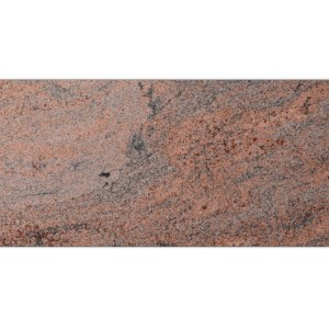Natural Stone Tiles Granite Multicolor Red Brushed 30,5x61cm