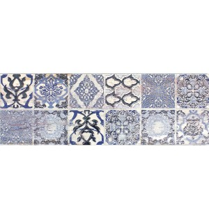 Wall Tiles Decor Vesta Blue White 20x60cm