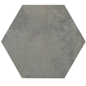 Floor Tiles Casablanca Hexagon Grey 52x60cm