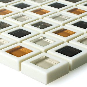 Glass Plastic Mosaic Anatolia Brown