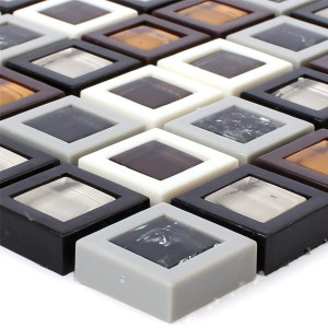 Glass Plastic Mosaic Anatolia Colored