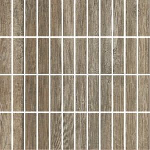 Mosaic Tiles Wood Optic Respect Argent