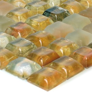 Glass Swimming Pool Mosaic Tiles Pergamon Beige