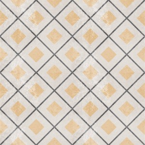 Cement Tiles Retro Optic Gris Floor Tiles Cubero 18,6x18,6cm