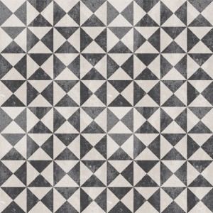 Cement Tiles Retro Optic Gris Floor Tiles Oteiza 18,6x18,6cm