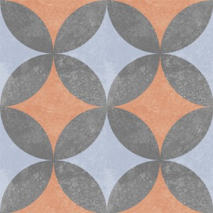 Cement Tiles Retro Optic Gris Floor Tiles Cano 18,6x18,6cm