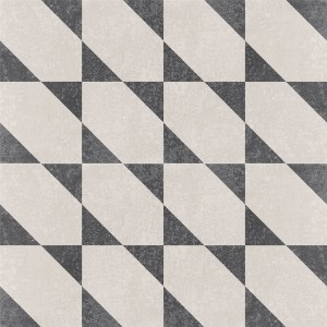 Cement Tiles Retro Optic Gris Floor Tiles Alonso 18,6x18,6cm