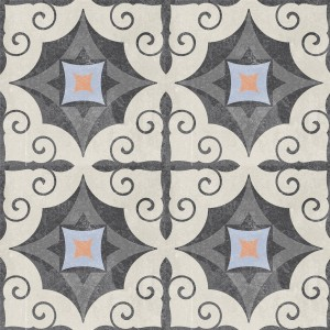 Cement Tiles Retro Optic Gris Floor Tiles Serrano 18,6x18,6cm