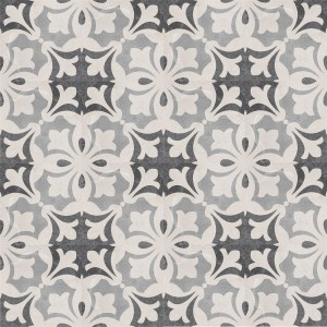 Cement Tiles Retro Optic Gris Floor Tiles Miro 18,6x18,6cm