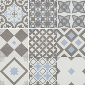 Cement Tiles Optic Casino Floor Tiles Pietro Blue