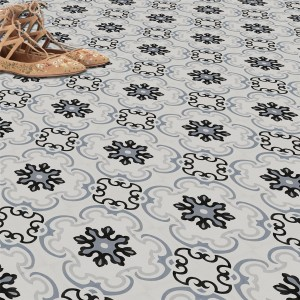 Cement Tiles Optic Floor Tiles Gotik 22,3x22,3cm