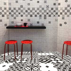 Cement Tiles Optic Casino Floor Tiles