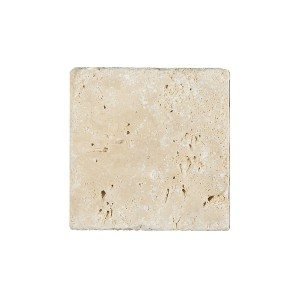 Natural Stone Tiles Travertine Barga Beige 10x10cm