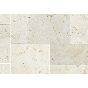 Natural Stone Tiles Travertine Barga Beige Roman Pattern