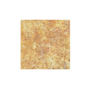 Natural Stone Tiles Travertine Castello Gold 10x10cm