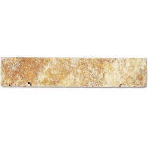 Skirting Travertine Natural Stone Tiles Castello Gold