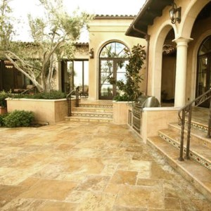 Natural Stone Tiles Travertine Castello Gold