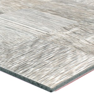 Mosaic Tiles Wood Optic Metal Self Adhesive Reynosa Grey