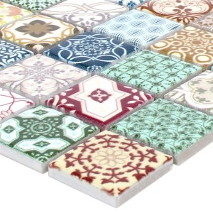 Mosaic Tiles Ceramic Dia Retro