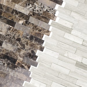 Mosaic Tiles Natural Stone Coronel Self Adhesive