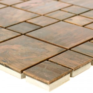 Metal Copper Mosaic Tiles Myron Kombi