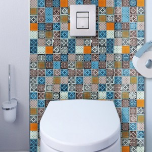 Mosaic Tiles Glass Barock