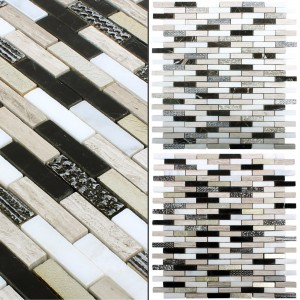 Mosaic Tiles Natural Stone Sicilia Brick