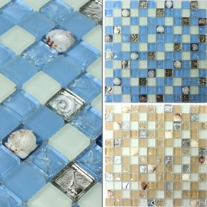 Mosaic Tiles Glass Shell