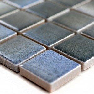 Ceramic Mosaic Tiles Picasso Grey Blue