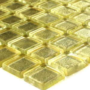Mosaic Tiles Glass Capone Gold