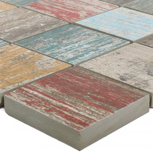 Ceramic Mosaic Tiles Concerto Colored Square R10/B