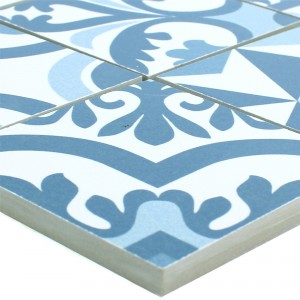 Ceramic Mosaic Retro Tiles Utopia Blue R10/B