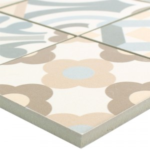Ceramic Mosaic Retro Tiles Utopia Grey Beige R10/B